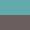 Turquoise/Charcoal