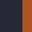 Dark Navy/Red/Orange