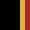 Black/Gold/Red