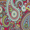 Paisley Magenta/Maroon Buckle