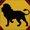 Magical Lion/Maroon Buckle