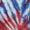 Americana Tie Dye/Red Buckle
