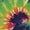 Sunset Tie Dye/Black Buckle