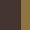 Brown/Brass