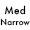 Medium Narrow