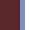 Burgundy/Denim/White