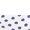 White/Navy Polka Dots