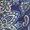 Floral Paisley/Legion Blue
