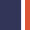 Peacoat Dark Blue/Grenadine Red