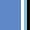 Daphne Blue/Black/White