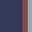 Navy/Silver/Red