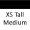 Xs Tall Med