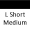 L Short Med