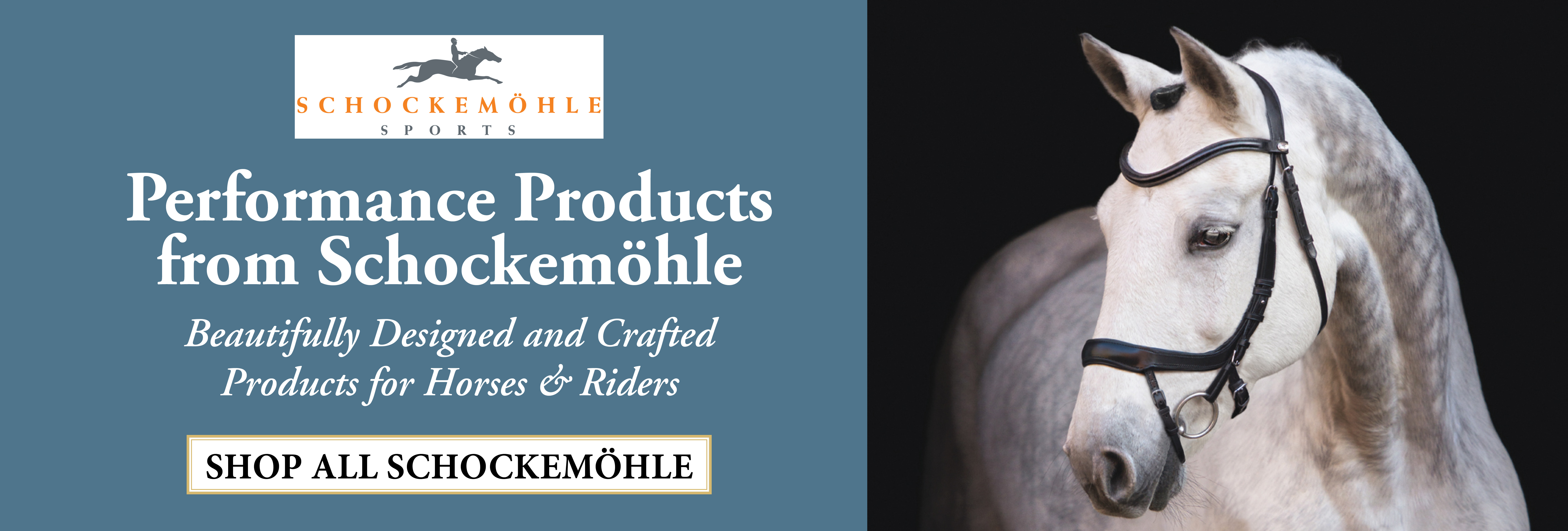 Shop Schockemohle Tack & Apparel Now