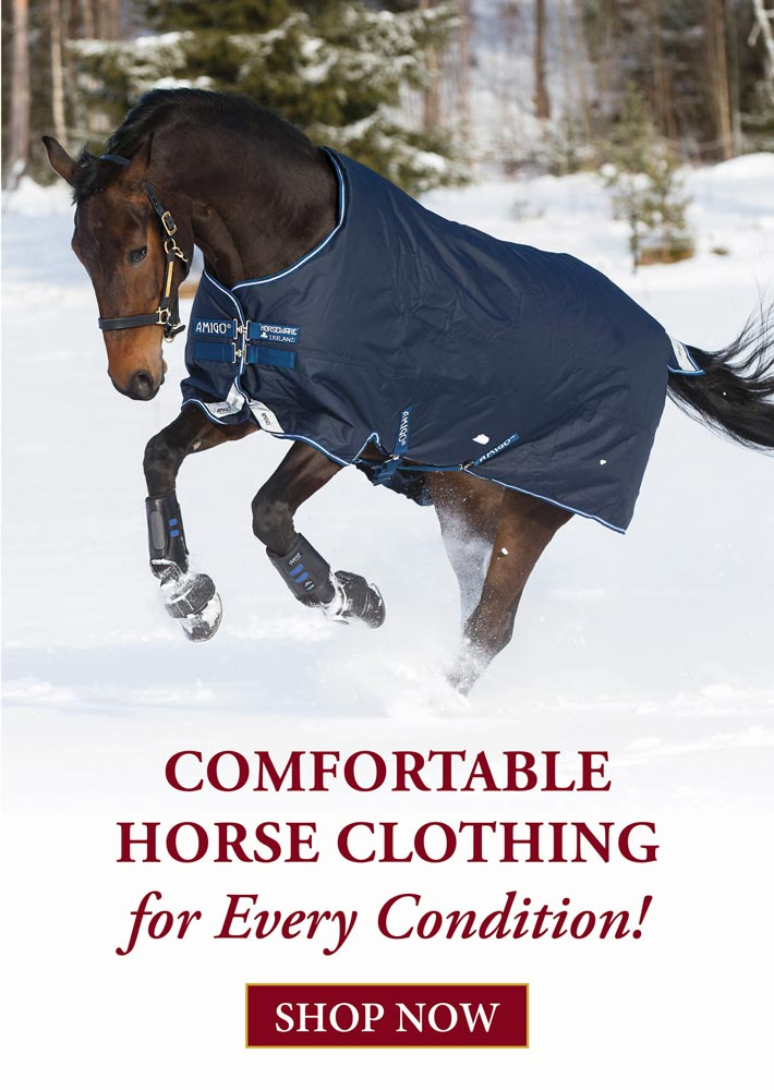 Shop Comfortable Horse Clothing for Every Condition