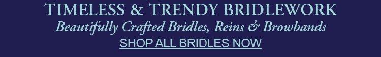 Shop Bridles, Browbands & Reins on Dressage Extensions Website