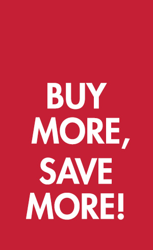 Buy More, Save More! Image
