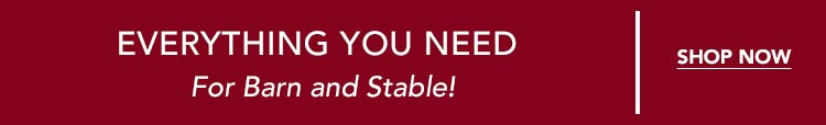 Shop Everything You Need for Barn & Stable