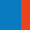 Royal/Orange/Light Blue