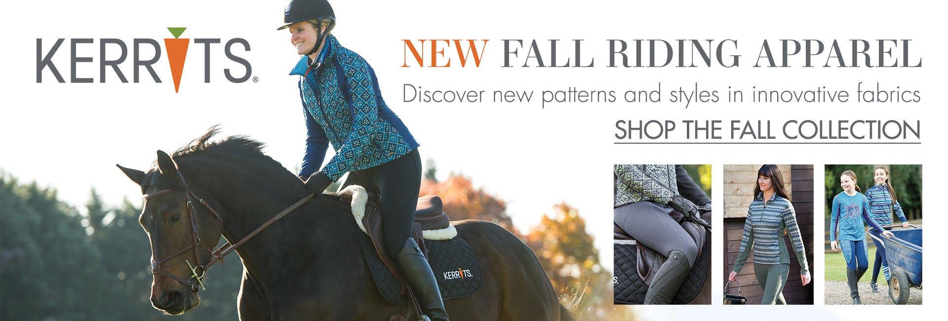New Kerrits Fall Apparel