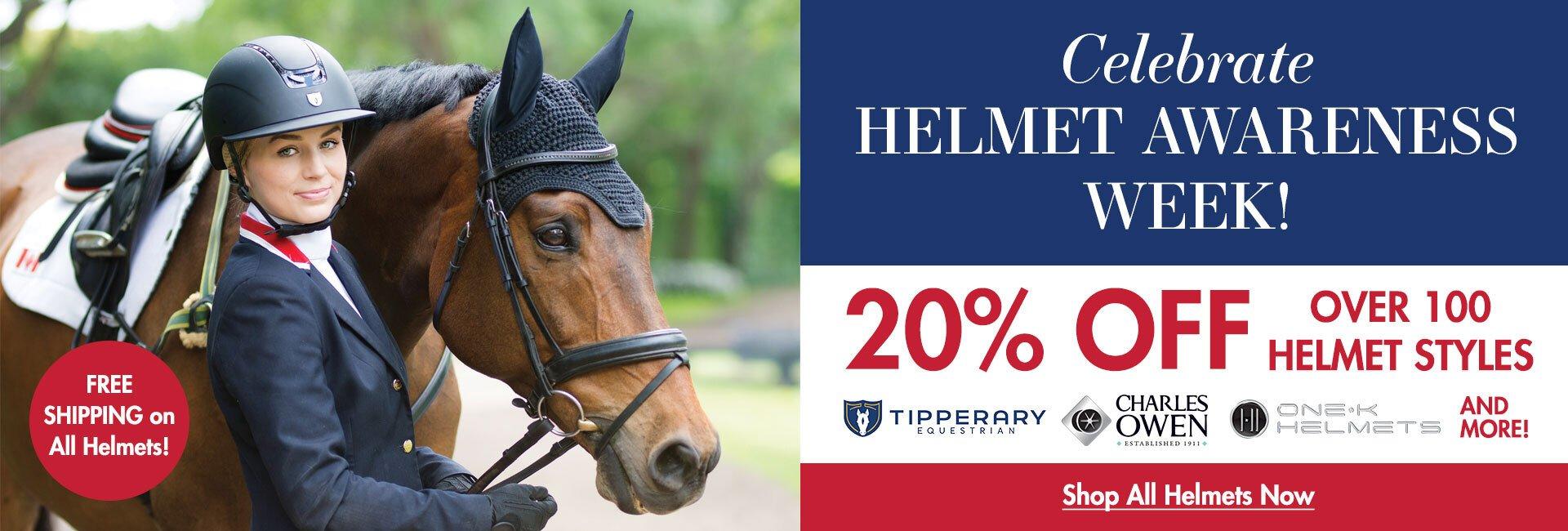 20% Off Helmets!