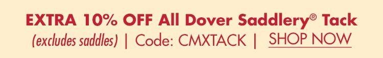 Extra 10% OFF All Dover Tack