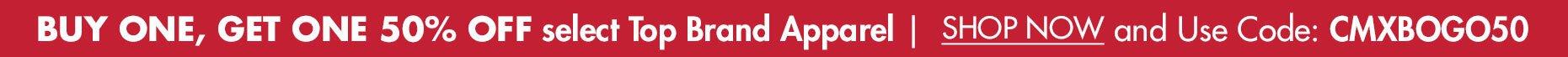 BOGO 50% OFF All Noble Apparel & Favorites from Other Top Brands!