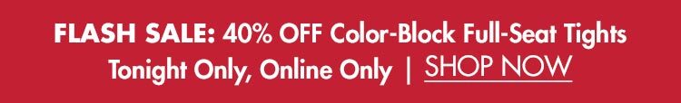 Flash Sale: 40% OFF Dover Saddlery® Color-Block Full-Seat Tights
