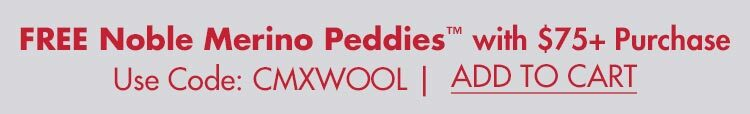 FREE Noble Wool Peddie with $75+