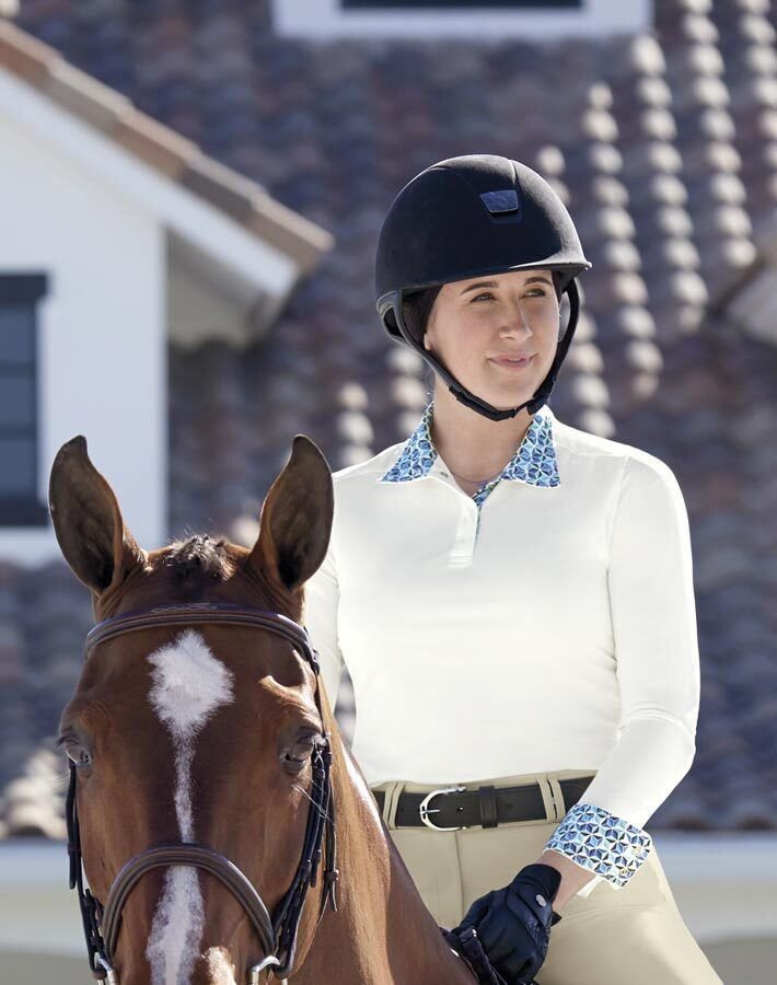 Dover Saddlery® CoolBlast® Long Sleeve Show Shirt - 30% Off