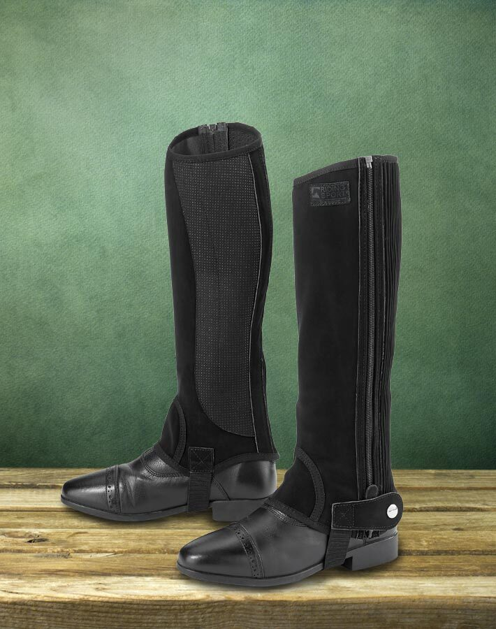Riding Sport™ Synthetic Suede Half Chaps- Only $39.99!