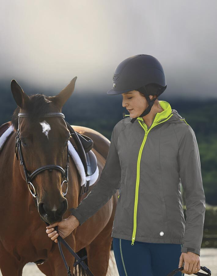 Stride Misty Morning Rain Jacket