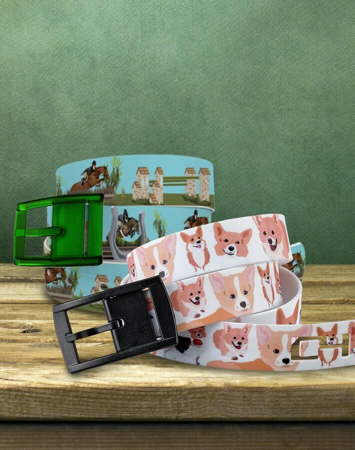 FREE Solid Belt with Patterned C4 Belts- Shop Now!