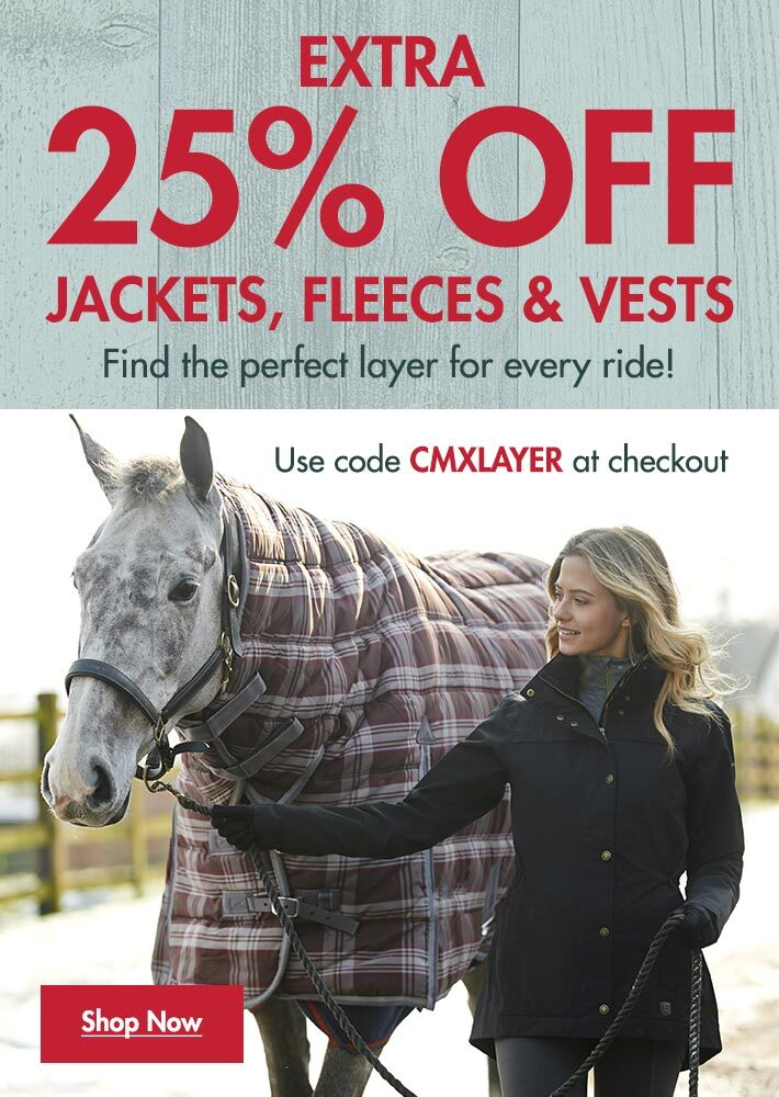 Extra 25% OFF Jackets, Fleeces & Vests