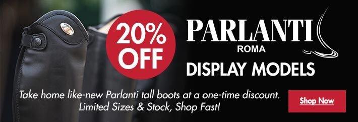 20% OFF Parlanti Display Models
