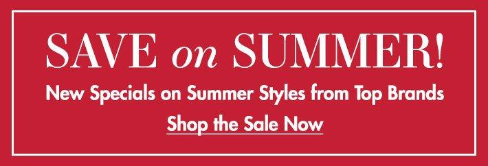 Save on Summer!