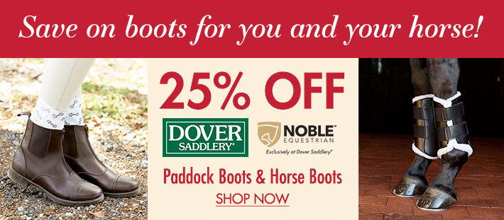 25% OFF Boots for you and your horse