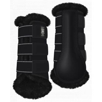 E.A. Mattes Front Sheepskin Boots