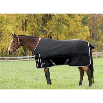 Riders Supreme Heavyweight Turnout Blanket- In Navy Plaid