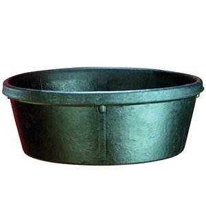 Rubber 4-Quart Feed Pan