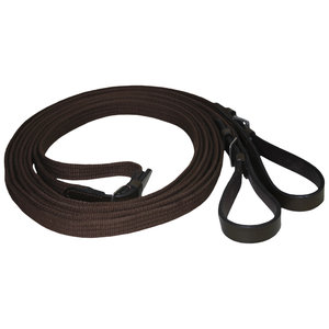 Suffolk® by Dover Saddlery® Web Draw Reins