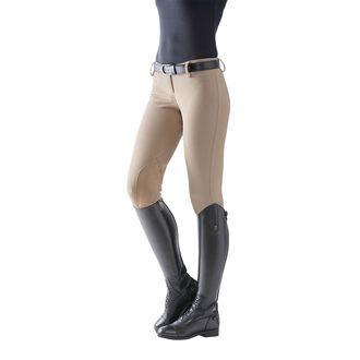 TuffRider® Ladies' Ribb Low-Rise Pull-On Knee-Patch Breech