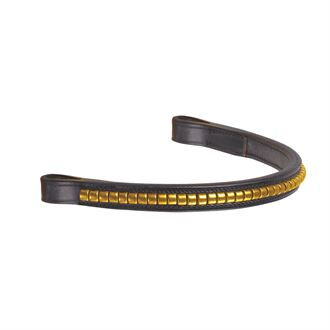 Suffolk® by Dover Saddlery® Brass Clincher Browband