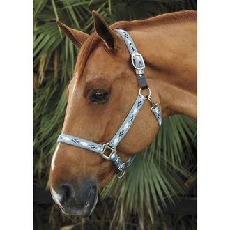 Suffolk® by Dover Saddlery® Woven Argyle Breakaway Halter