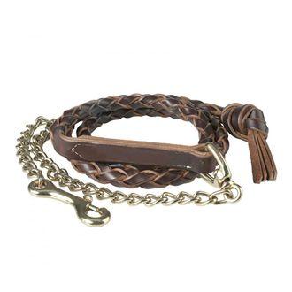 "Finntack Braided Lead Shank with 24"" Chain"