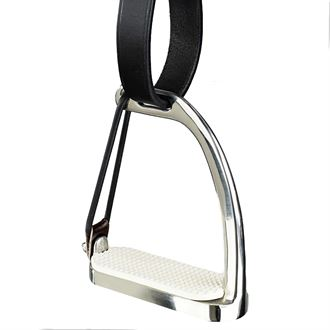 Horze Peacock Quick-Release Stirrups with Rubber Donut