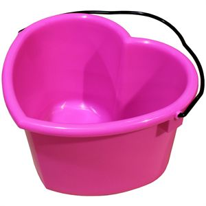 6-Quart Heart Pail