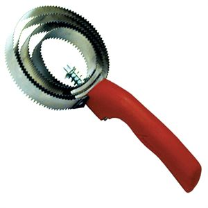 Spiral Metal Curry Comb