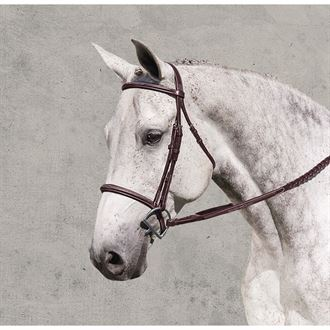 Ovation® Ultra Raised Padded Fancy-Stitched Bridle