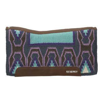 Weaver Leather®Contoured Woven Wool Top, Foam & Felt Western Saddle Pad